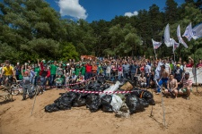Очистка озера Глубокое в 2016 году