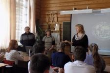 Встречу открыла Ольга самсонова