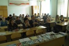 На заседании. Фото предоставлено КОО РГО