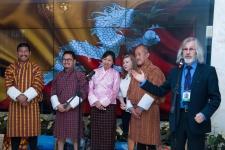 Делегация из Бутана впервые прибыла в Россию