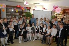 Участники мероприятия в вологодской городской библиотеке № 10