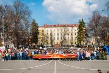 Первый патриотический слет в Вологде