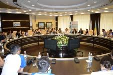 Круглый стол «Проблемы экологии России и Казахстана. Молодежный взгляд»