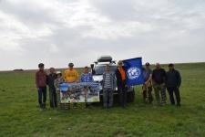 Степная экспедиция РГО  в Западном Казахстане. Сайгачий питомник