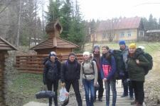 Участники экологической акции.