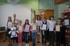 Победители конкурса.(Фото предоставлено библиотекой им. Островского г. Кургана).
