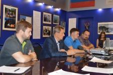 Пресс-конференция участников экспедиции