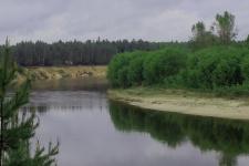 Река Ветлуга. Фото Шарьинского местного отделения РГО