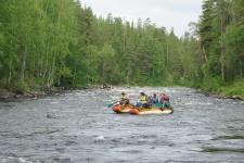 Экологический сплав - формат мониторинга и очистки водоемов в труднодоступных местах