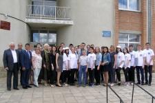 Участники экологического форума в п. Первомайский Оренбургской области. Фото предоставлено Оренбургским региональным отделением РГО