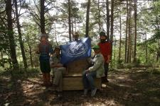 Степная экспедиция РГО в Хвалынских горах