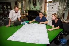 Рабочая встреча по работе над документальным фильмом о подводных исследованиях ОИАК. Фото: Маргарита Кузнецова