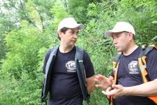 Фарид Абдулганиев - министр экологии и природных ресурсов РТ (слева)