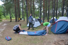 Крылья сложили палатки - их кончен полёт