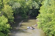 Стартанул четырехдневный экологический сплав по реке Тойма