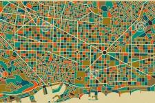 План города Барселоны (фото предоставлено Махровой А. Г.)