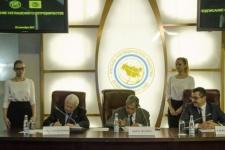 Signing of the Agreement. Photo by Nikolai Razuvaev