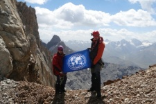 Photo is provided by the participants of the expedition