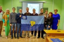 Члены ВО РГО с Димой Нижегородским. Фото на память. Фото: Е. Шулико