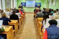 Перед началом Географического диктанта. Фото: Лилия Деточенко