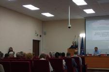 Открытие конференции Зыряновские чтения-2017. Фото предоставлено Курганским отделением РГО.