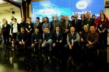 Участники Первого съезда Российкого союза спелеологов