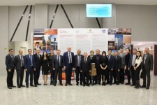 Among the participants are the following: the Advisor to the President of the Russian Geographical Society on International Activities S. Katikov, Vice-President of the Russian Geographical Society K. Chistyakov, Chairman of the Governing Council of Qazaq