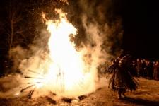 Celebrating the New Year in Tuva. Photo by Alexander Kryazhev