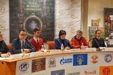 Участники пресс-конференции. Автор фото Дьулус Антонов.