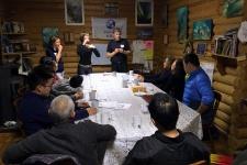 Теоретические занятия у китайских групп проходят с переводчиком
