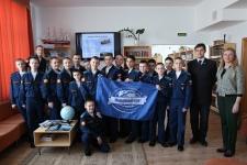 Молодежный клуб РГО при Оренбургском региональном отделении активно сотрудничает с Оренбургским президентским кадетским училищем