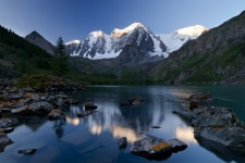 Altai Republic, the Upper Shavlinsky Lake