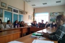 Участники географической конференции. Фото предоставлено Курганским отделением РГО.