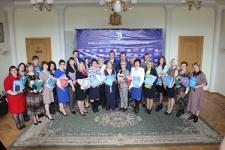 Победители премии им. А.В. Потаниной. Фото: О.А. Никитина