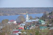 Старинный русский город Плес, Ивановская область