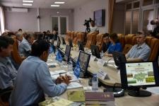 Заседание оргкомитета в Северо-Казахстанском государственном университете им. М. Козыбаева
