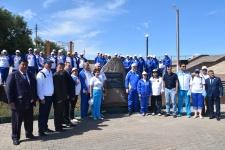 Представители 22-ой Казахстанско-российской экспедиции