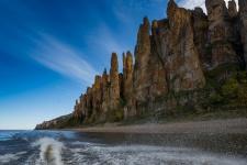 Ленские столбы – уникальный природный парк, национальное достояние Якутии. Автор: Сергей Поляков
