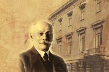 Почетный президент Географического общества, академик Ю.М. Шокальский