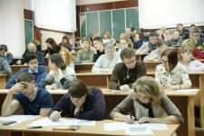Участники Географического диктанта в ВоГУ