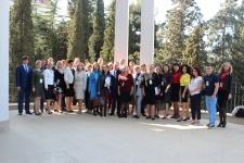 Участники конференции «Приоритетные направления и проблемы развития внутреннего и международного туризма в России» (Фото: Гуров С.А.)