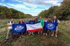 Команда участников эколого-волонтерского лагеря (Фото: Молодежный клуб РГО )