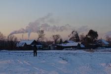 Вечернее село
