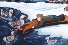 Рисунок участницы конкурса Василины Баевой