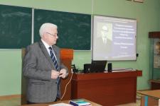 Открытие заседания памяти И.Н. Салова