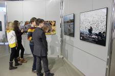 На открытии выставки. Фото: Тамара Ватлина