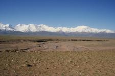 Алайская долина, Заалайский хребет, река Кызыл-Суу (западная). Фото с сайта wikipedia.org