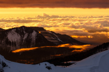 """""""Golden Clouds"""" by the participant of the RGS photo contest """"The Most Beautiful Country"""" Alexey Shabanov"""