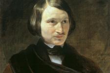 Портрет Н.В.Гоголя работы Ф.А.Моллера