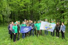 Участники зеленого десанта. Фото Е. Гончаров